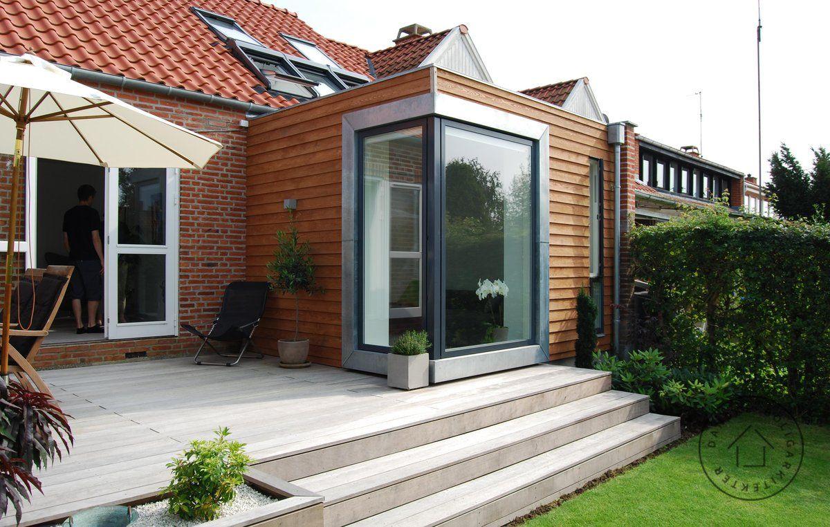 Tilbygning til rækkehus | rækkehus | Pinterest | Rækkehus, Terrasse og Huse
