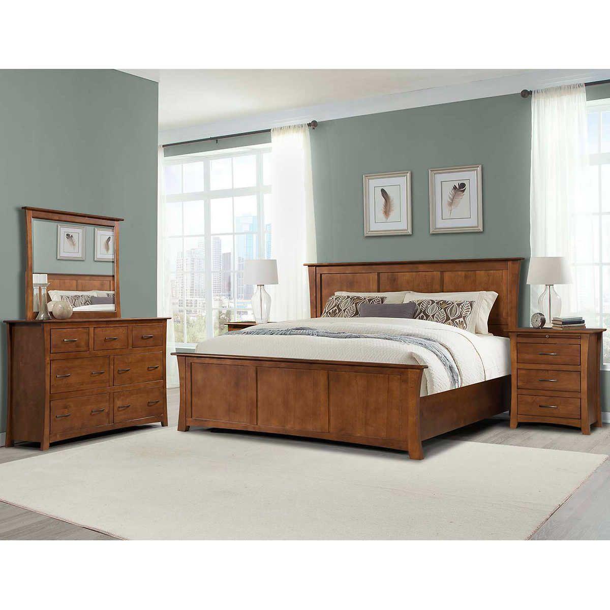 chartres 5piece queen bedroom set  king bedroom sets