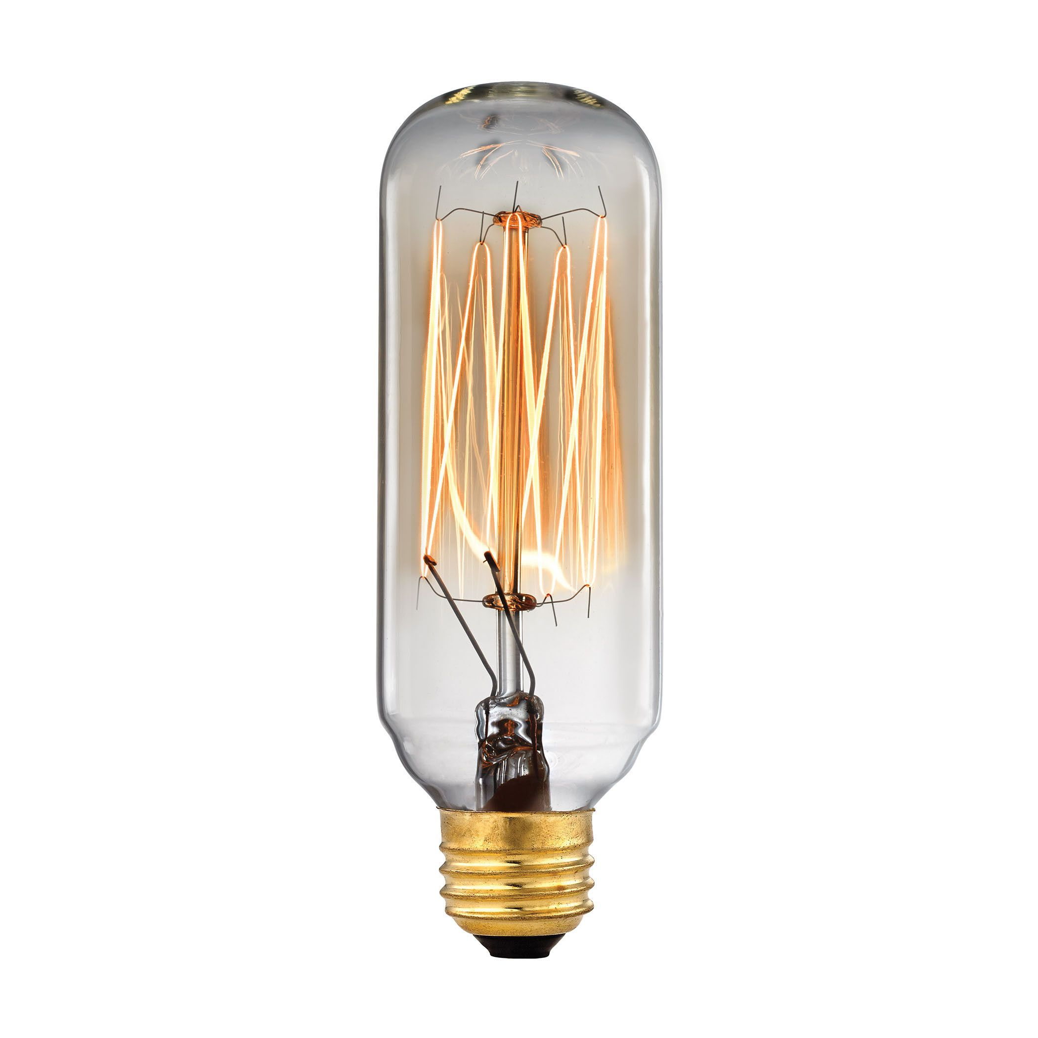 Vintage filament light bulb 40 watt candelabra base lights vintage filament light bulb 40 watt candelabra base arubaitofo Gallery
