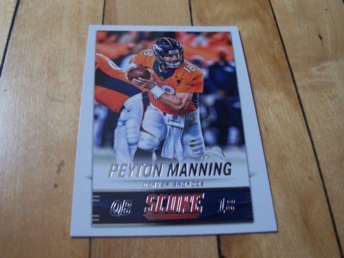 #2014PaniniScore Card 66 #PeytonManning | #eBay #NFLFootball #DenverBroncos #Denver #footballcards