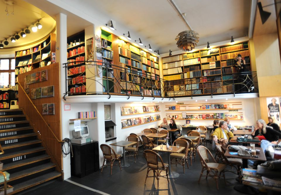 Cafe Paludan in Copenhagen: books and coffee #bar #cafe ...