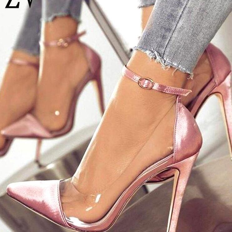 Buty Na Obcasie Supku Przekrj Heels Fashion Heels Stiletto Heels