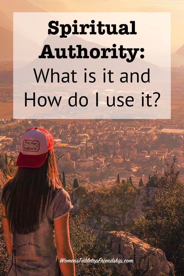 What is Spiritual Authority? When and how is it used? This post will help you understand the spiritual authority you've been given. #womenstabletopfriendship #healing #readtheBible #spiritualauthority #spiritualwarfare