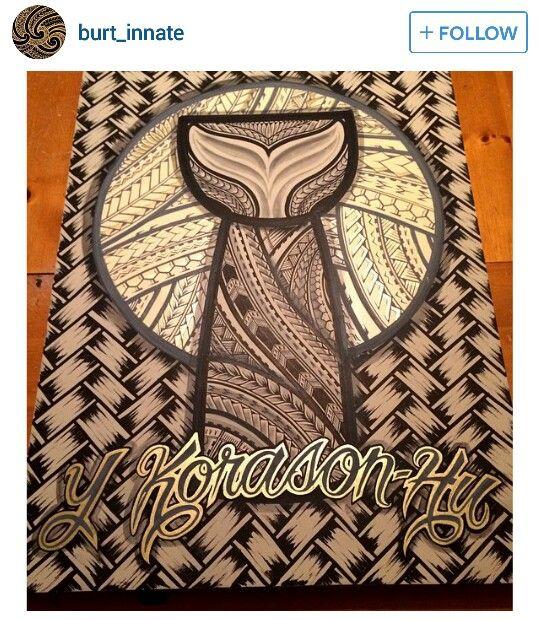 Polynesian tribal latte stone....would make a great tattoo