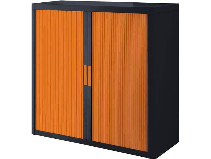 Aktenschrank Easyoffice Orange Office Büro Homeoffice