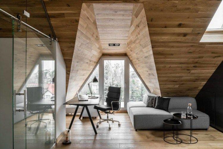 Comment Le Lambris Plafond Bois Participe A La Deco Cosy