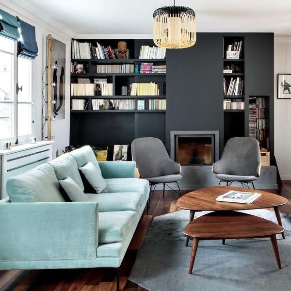 Appartement Paris 6 Saint Germain : un duplex façon maison ...