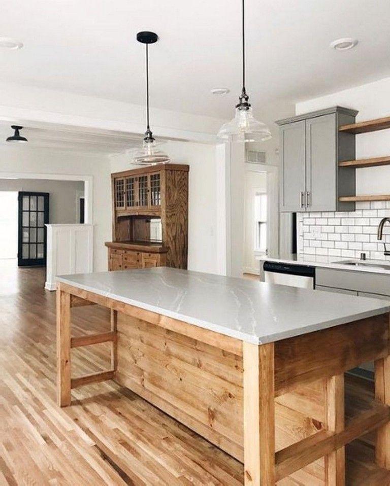 46 Fabulous Country Kitchen Designs Ideas: 45+ Fabulous Chalet Kitchen Designs Ideas That Inspire
