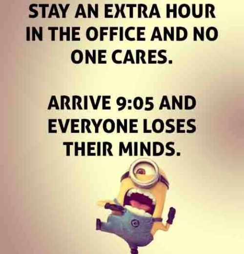 Funny Quotes About Work Entrancing Best Minions Quotes Of The Week  Funny Minion And Office Works