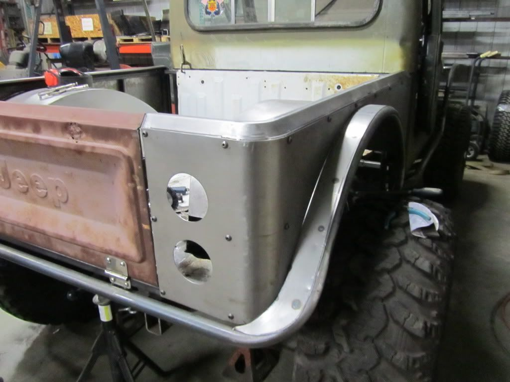 Tom O Brien Jeep >> Build your own flat fender body project. - Page 7 ...