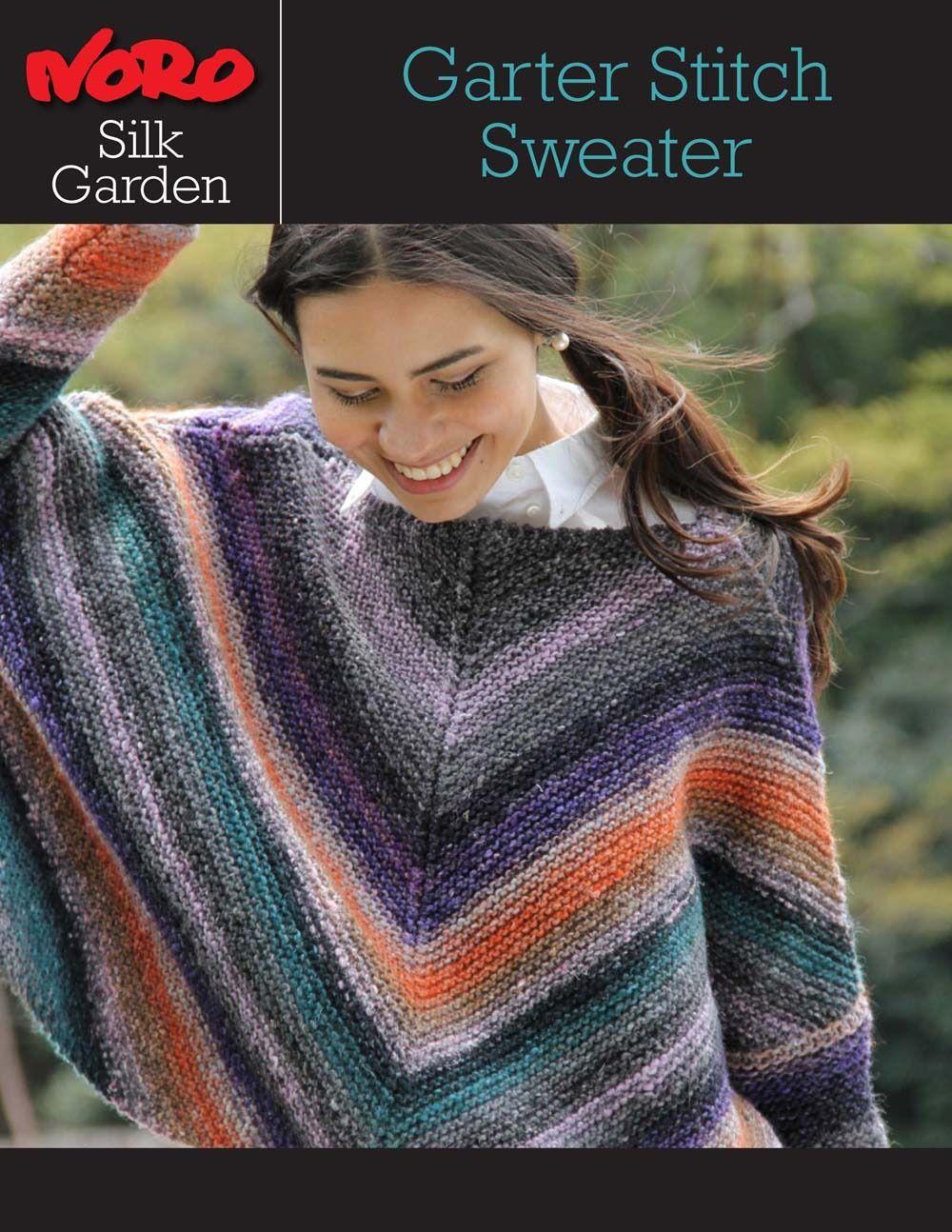 Garter stitch sweater in noro silk garden discover more patterns garter stitch sweater in noro silk garden discover more patterns by noro at loveknitting bankloansurffo Gallery