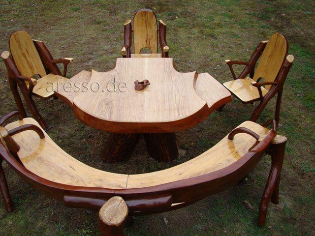 Polen Areso Furniture Rustikale Gartenmobel Gartenmobel Rustikal