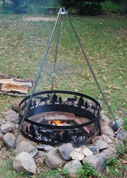 Campfire Cooking Equipment Campfire Cooking Equipment Campfire