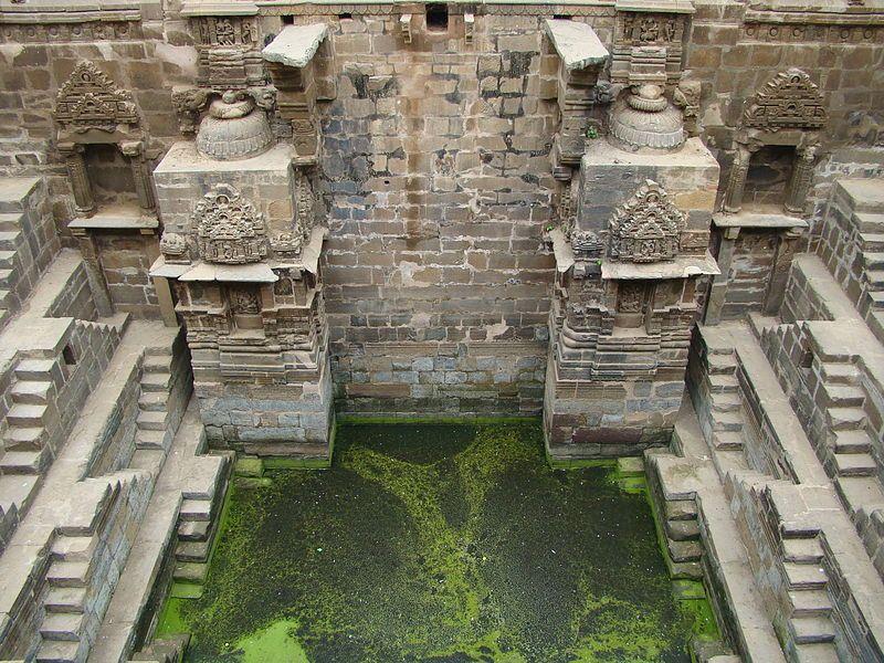 The Chand Baori stepwell of Rajasthan, India