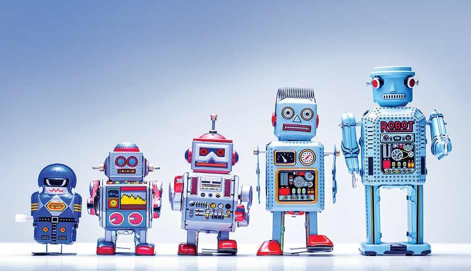 постер по робототехнике одностадийном