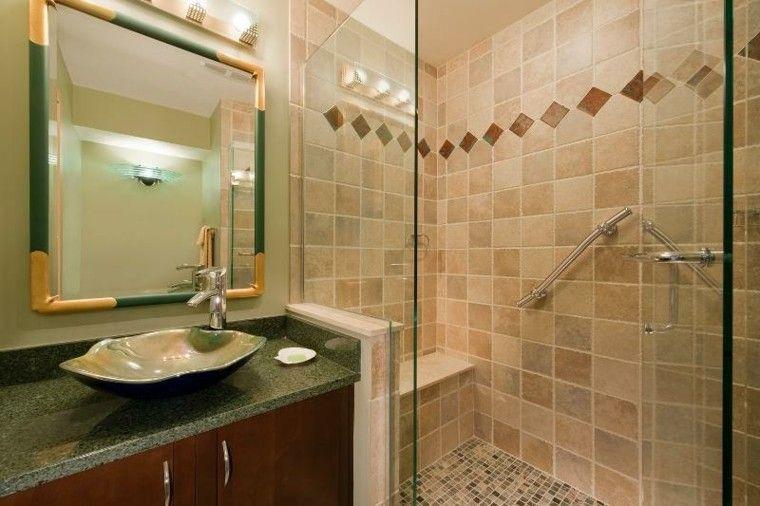 Ba os peque os con ducha 38 dise os de moda decoraci n for Disenos de banos pequenos con ducha modernos