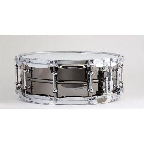 Ludwig LB416T 5X14 Brass Shell Black Beauty Snare Drum | Pinterest