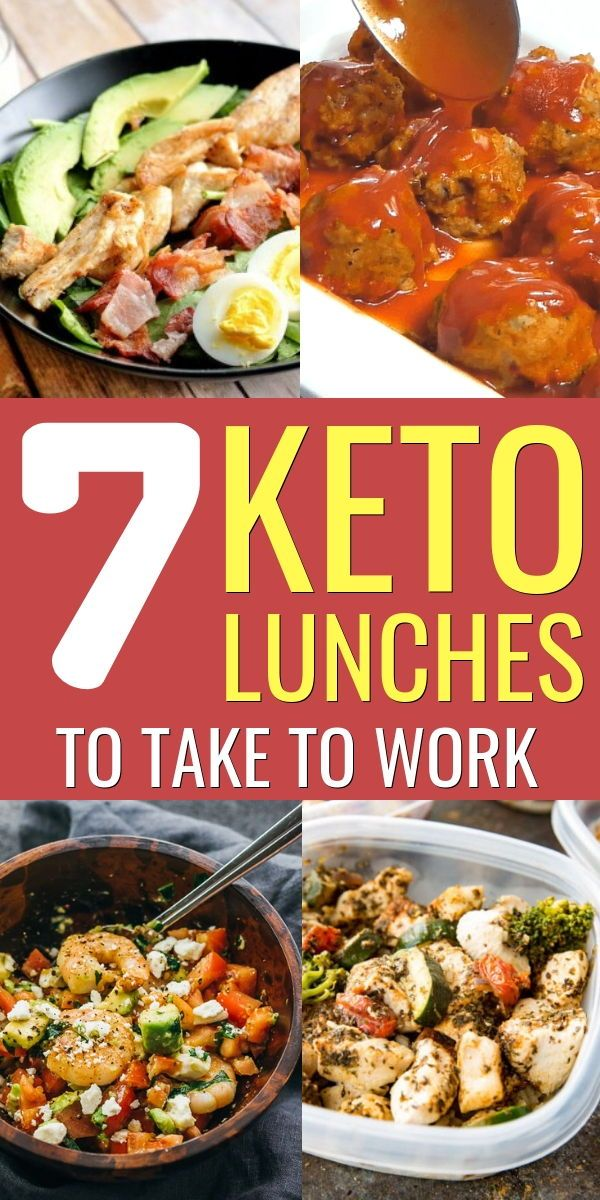 7 Keto Lunches To Take To Work − On The Go Keto Lunch Ideas images