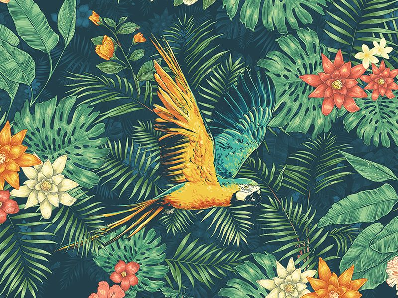 tropical wallpaper pattern - photo #30