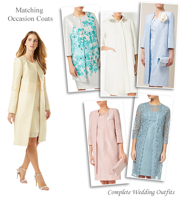 Occasion Coats With Matching Dresses Perfect For Mother Of The Bride Groom Or Wedding Guest