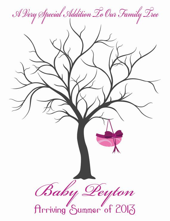 Baby Shower Tree Images ~ Hey i found this really awesome etsy listing at http