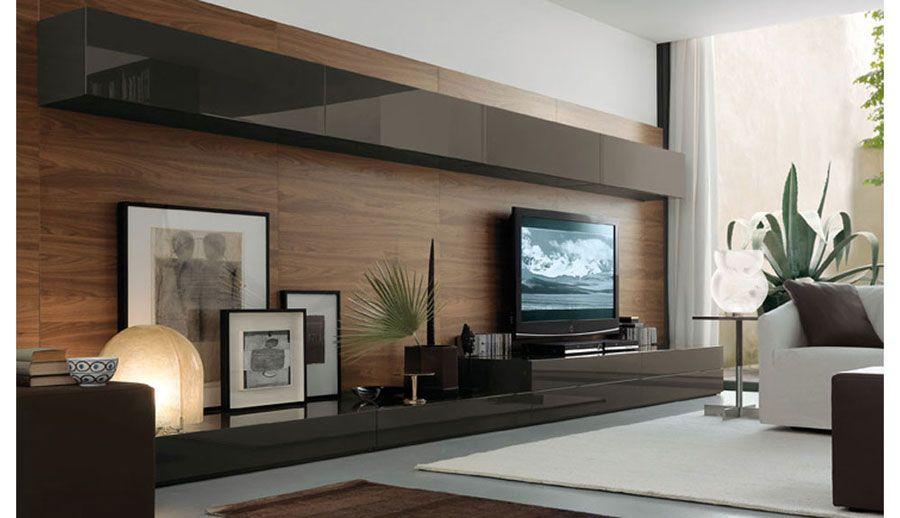 Idee Per Mobili Tv.Pareti Attrezzate Moderne 70 Idee Di Design Per Arredare Casa