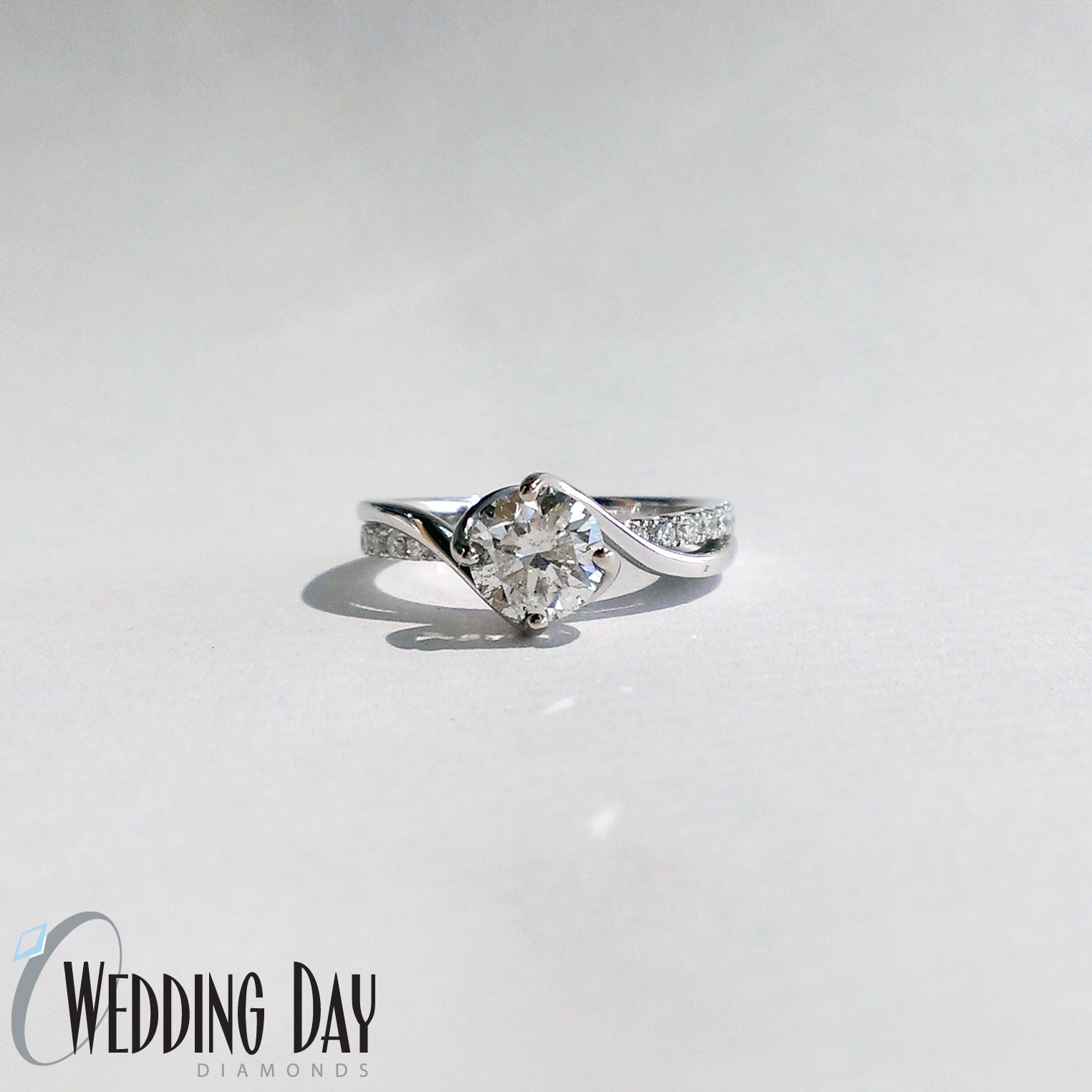 Engagement ring with a twist lovethis recently created