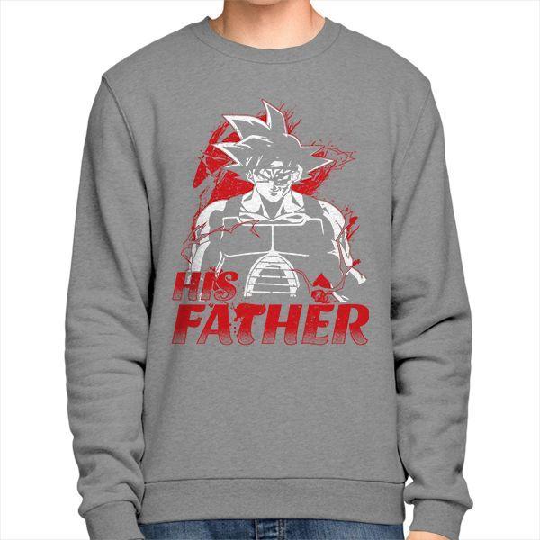 Super Saiyan Bardock Dad Sweatshirt Shirt - PF00517SW