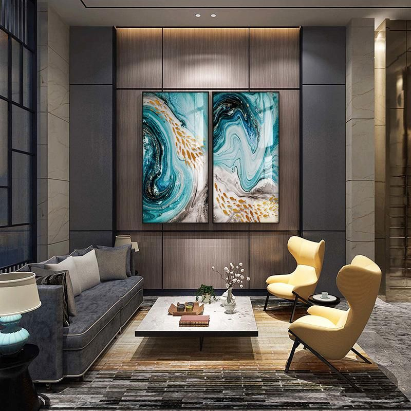 Abstract Canvas Giclee Print Swirls Picture Unframed Home Decor Fine Wall Art