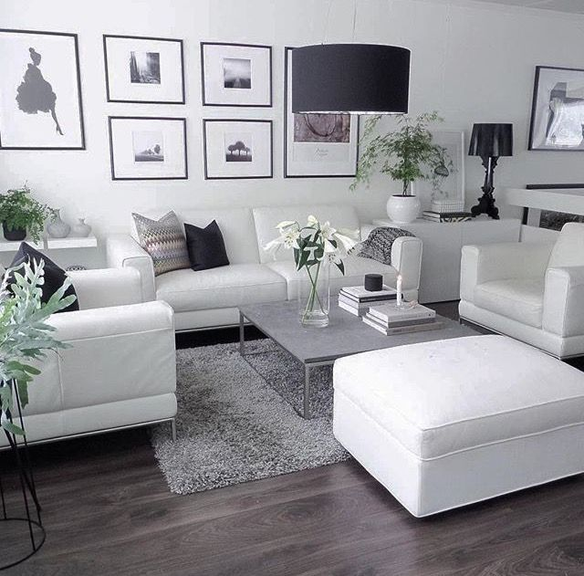 Pin By Srna Oberlajt On Home Living Room Designs White Living Room Decor Living Room Furniture Arrangement