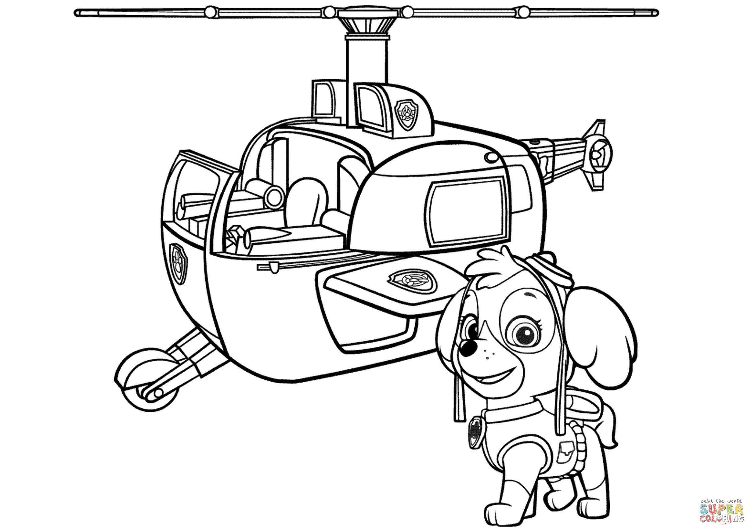 Joseph And The Coat Of Many Colors Coloring Page Inspirational Helicopter Coloring Pages Paw Patrol Coloring Paw Patrol Coloring Pages Paw Patrol Printables