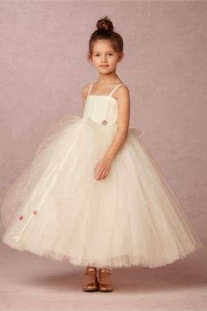 93c44b00458 Flower Girl Outfits for Every Wedding Style  Flower Girl Dress for a  Cinderella Ballroom Wedding
