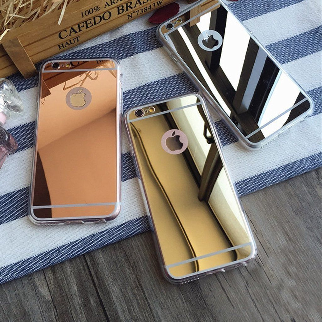 Apple Iphone X Case Iphone 10 Reflective Mirror Easy Grip Slim Armor Case For Iphone X Rose Gold Mirror Case Iphone Iphone Iphone Models