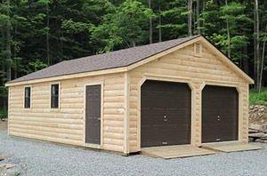 Garages Log Cabins Zook Cabins Prefab Garage Kits Garage Design Plans Garage Plans
