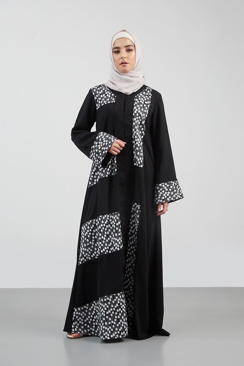 Isytihar Abaya Black Dresses-and-jumpsuit Tampil cantik dengan