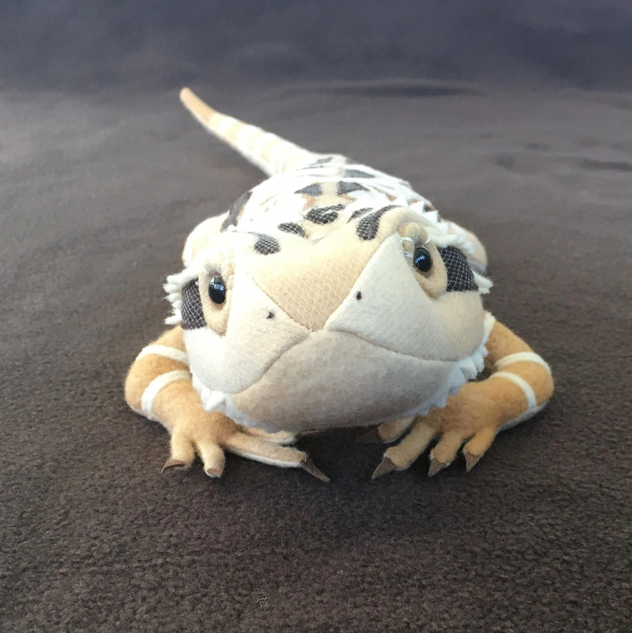 Bearded Dragon Soft Sculpture By Sew Thrifty Couture, LLC