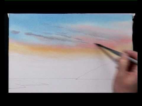 How To Paint Watercolours One - Part One of Two with Jeremy Ford - EXCELLENT demonstration!