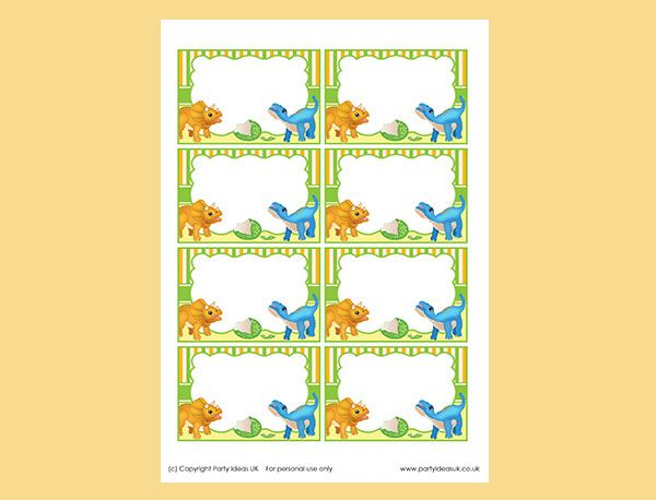 Yellow Dinosaur Fun Certificate Use This Template