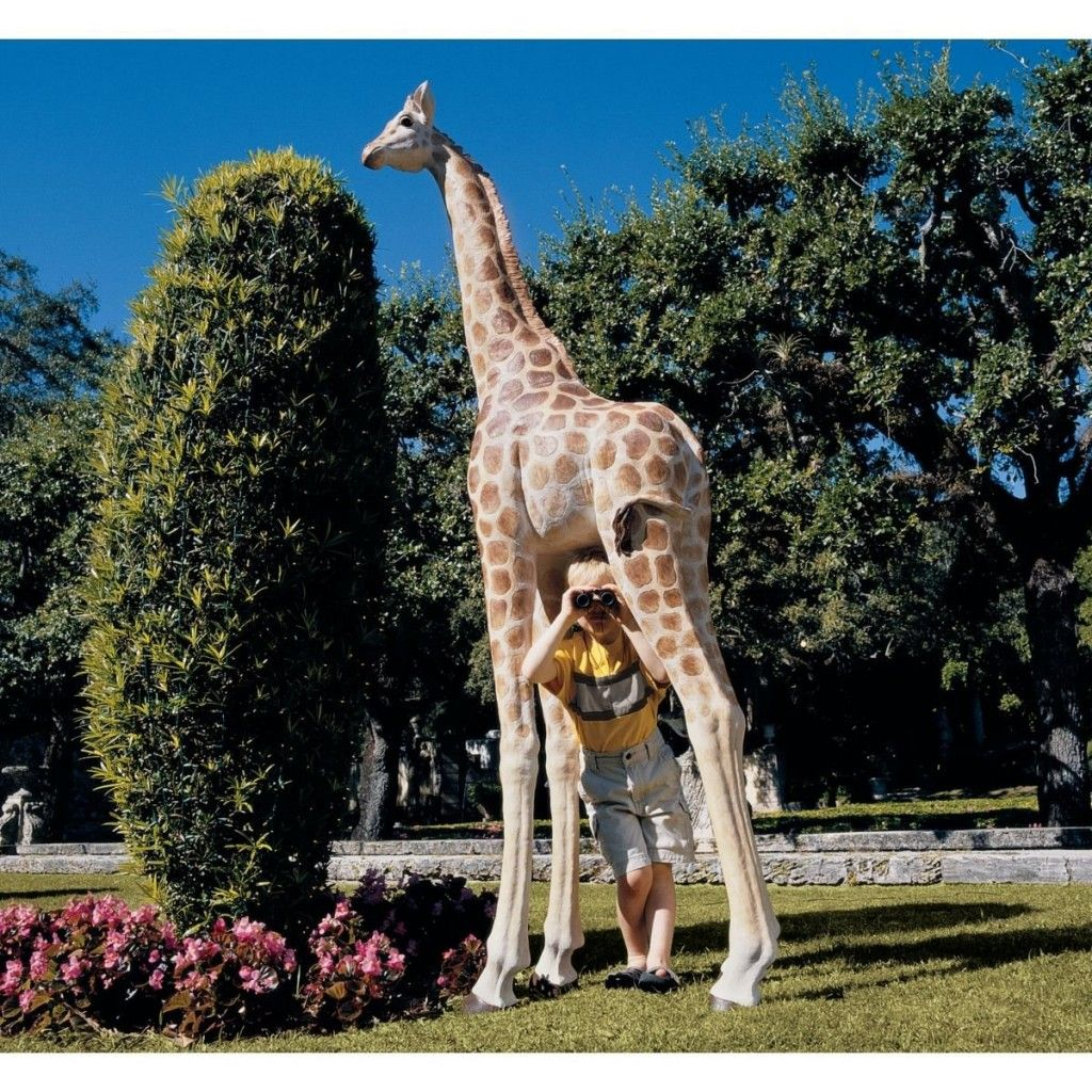 Mombasa, The Garden Giraffe Statue. At Nearly 8 Feet Tall, Itu0027s One Of The  Largest Garden Sculptures Weu0027ve Ever Offered! If You Really Want Your Garden  To ...