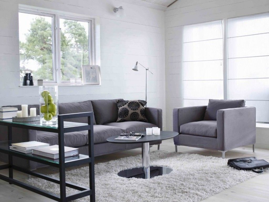 Ways to Decorate Grey Living Rooms | Pinterest | Grey couches, Sofa ...