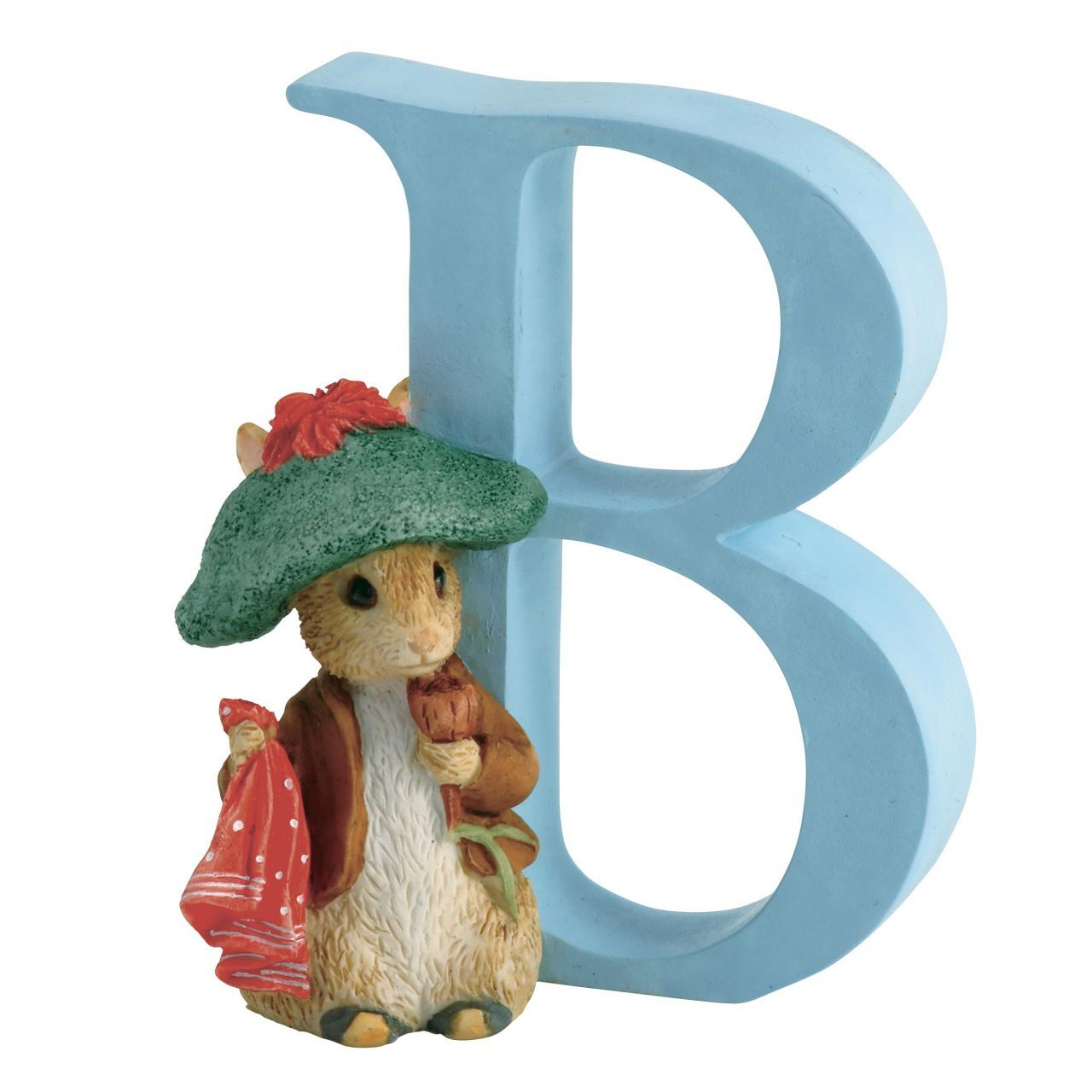 NEW Beatrix Potter Alphabet Initial F Timmy Willie