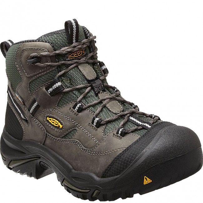 1011243 KEEN Men's Braddock Mid WP Safety Boots - Gargoyle www.bootbay.com  · BotasBotas ...