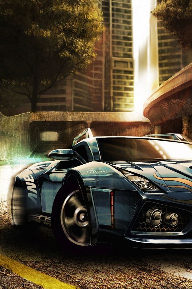 iphone car wallpaper