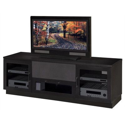 Contemporary Furnitech Wenge Color Right Idea Center Channel