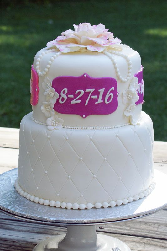 Baptism cake Decoraciones pasteles Pinterest Ideas de pasteles