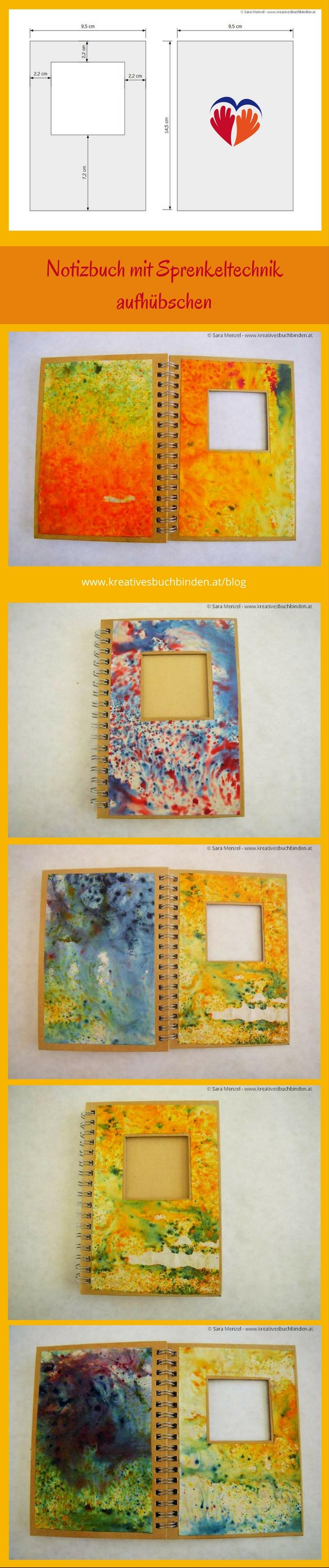 Notizbuch Mit Schmuckpapier Verschonern Geschenksideen Notizbuch