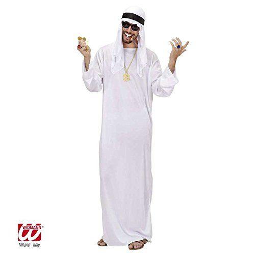 Arabes cheikh costume mardi gras carnaval costume hommes costume robe noir-xl