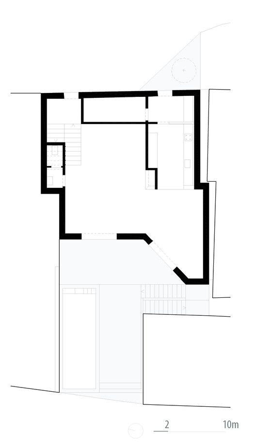 Casa no Sobral da Lagoa,Planta do térreo