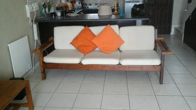 Strange 3 Seater Wooden Couch Cape Town Olx Co Za Couches For Ocoug Best Dining Table And Chair Ideas Images Ocougorg