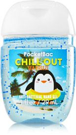 Chill Out Sea Breeze Pocketbac Sanitizing Hand Gel Soap